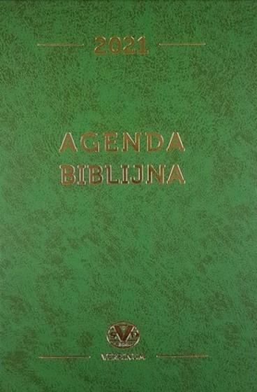 Agenda biblijna 2021 zielona mała