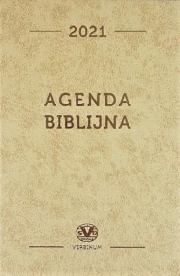Agenda biblijna 2021 beżowa duża