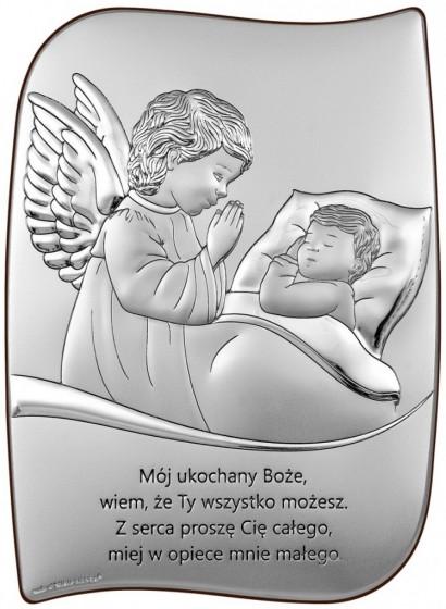 Aniołek nad dzieciątkiem 6726/2X