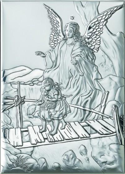 Anioł Stróż z dziećmi na kładce 81202 3L
