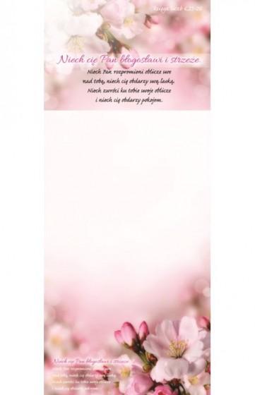Notes z magnesem - Niech cię Pan błogosławi i strzeże jabłoń