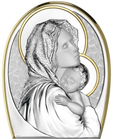 Madonna z Dzieciątkiem złocona AE0202/2