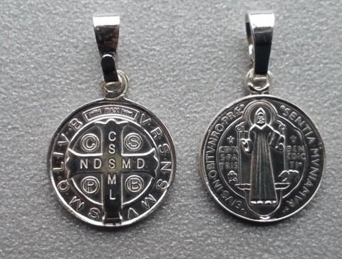 Medalik św. Benedykt MM71 bardzo mały