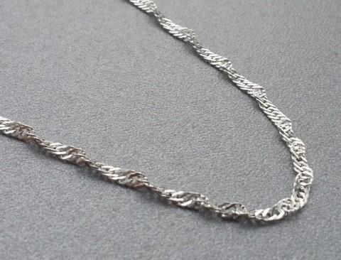Łańcuszek singapur SING035 45 cm