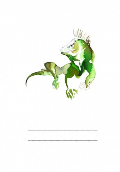 Iguana Izabela - zeszyt