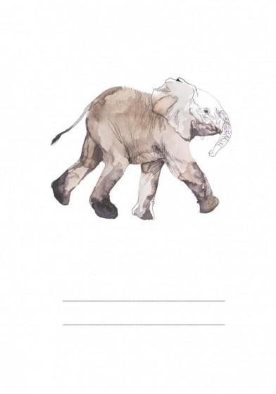 Słoń Nikodem - zeszyt