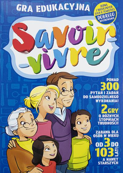Gra edukacyjna Savoir-vivre