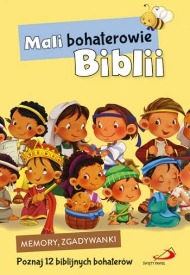 Mali bohaterowie Biblii - karty