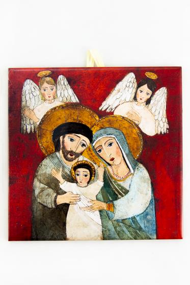 Święta Rodzina - kafelek średni
