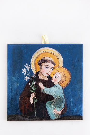 Święty Antoni - kafelek średni