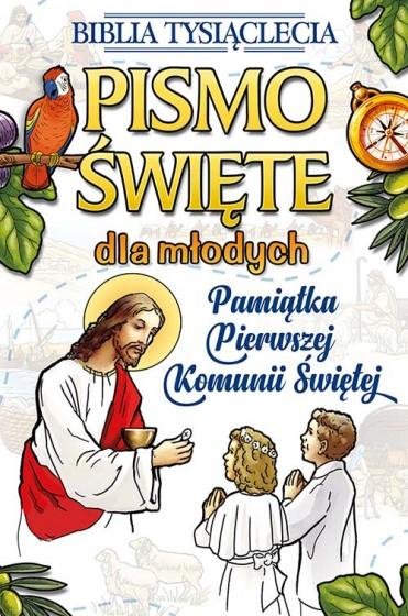 Pismo święte dla młodych obwoluta komunijna