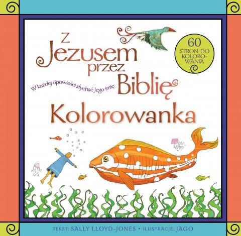 Z Jezusem przez Biblię / kolorowanka
