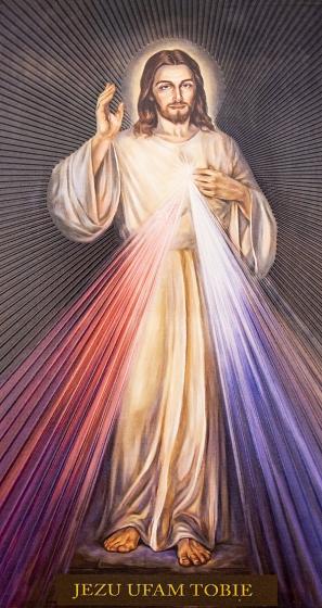 Jezu ufam Tobie - obraz / wysoki