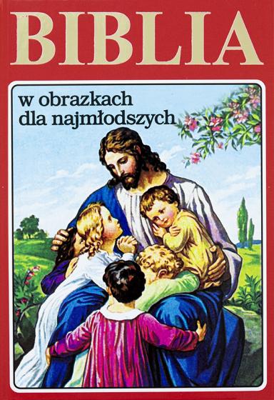 Biblia w obrazkach dla najmłodszych czerwona