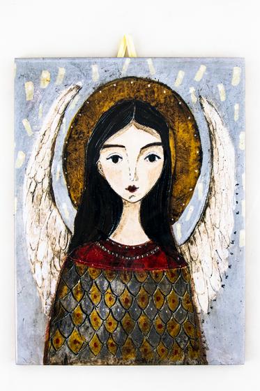 Anioł - kafelek duży
