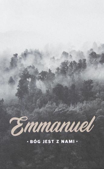 Notatnik Lux - Emmanuel / las
