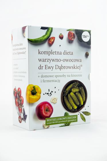 Dieta warzywno-owocowa dr Ewy Dąbrowskiej® - komplet 4 książek