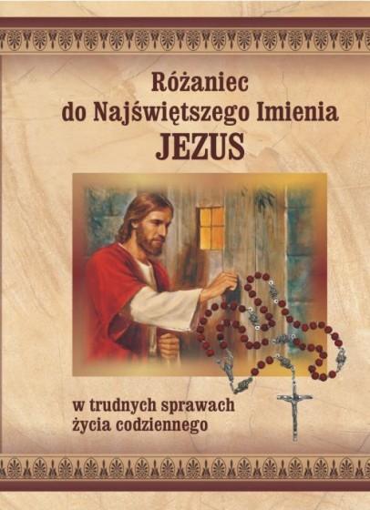 Różaniec do Najświętszego Imienia Jezus / druczek