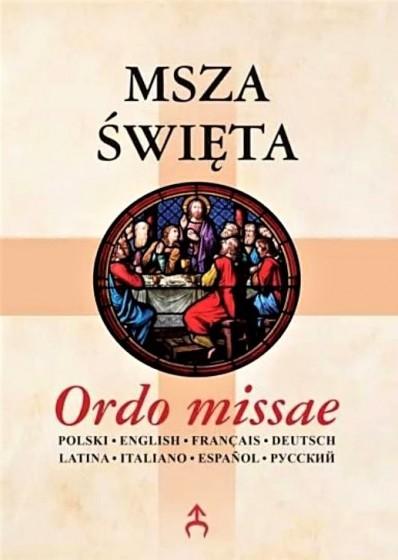 Msza święta Ordo missae / nowe wydanie 2021 r.