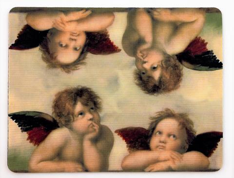 Aniołki Podkładka pod mysz
