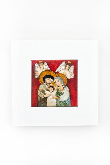 Święta Rodzina - kafelek w ramce