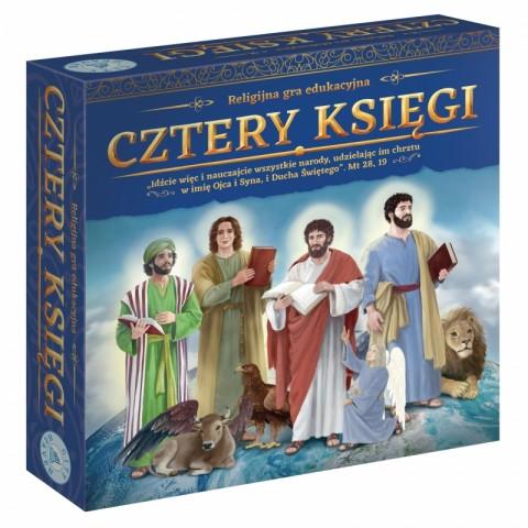 Cztery księgi Religijna gra edukacyjna