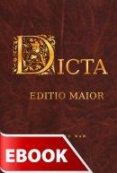 Dicta Edito Maior - Zbiór łacińskich sentencji, przysłów, zwrotów i powiedzeń. Z indeksem osobowym i tematycznym, Czesław Michalunio SJ