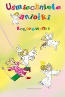 Uśmiechnięte aniołki kolorowanka - Kolorowanka, Barbara Derlicka