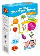 Puzzle - Warzywa i owoce - ,