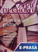 Życie Duchowe nr 97/2019 (Zima) - Słowa wiary godne, Jacek Siepsiak SJ (red. nacz.)