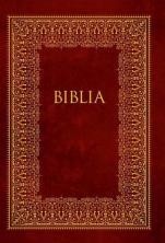 Pismo Święte Starego i Nowego Testamentu / czerwone bez obwoluty - Biblia domowa,
