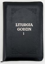Liturgia Godzin - Tom I z suwakiem, złocone brzegi kartek - ,