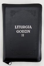 Liturgia Godzin - Tom II oprawa skórzana, z suwakiem, złocone brzegi kartek - ,
