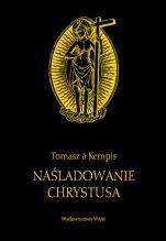 Naśladowanie Chrystusa czarne - , Tomasz á Kempis