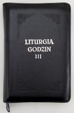Liturgia Godzin - Tom III oprawa skórzana, z suwakiem, złocone brzegi kartek - ,