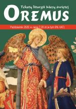 Oremus Październik 2020 - Teksty liturgii Mszy Świętej,