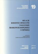 Relacje rodzinne i społeczne w kulturze środkowoeuropejskiej i chińskiej / Outlet - , red. Dariusz Krok, Dariusz Klejnowski-Różycki