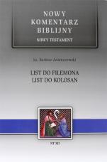 List do Filemona i List do Kolosan - , ks. Bartosz Adamczewski