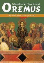 Oremus Maj 2020 - Teksty liturgii Mszy Świętej,