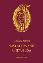 Naśladowanie Chrystusa bordowe - , Tomasz á Kempis