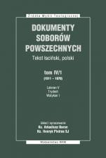 Dokumenty Soborów Powszechnych, tom IV/1 (1511-1870) - Broszura - Lateran V, Trydent, Watykan I, ks. Arkadiusz Baron, Henryk Pietras SJ