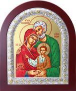 Ikona Święta Rodzina zielona (S) zaokrąglona - ,