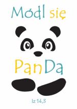 Módl się PanDa - magnes - ,