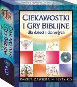 Ciekawostki i gry biblijne dla dzieci i dorosłych - ,