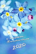 Z księdzem Twardowskim 2020 - Kwiatek - , Marian Grzybowski