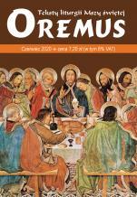 Oremus Czerwiec 2020 - Teksty liturgii Mszy Świętej,