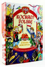 Kocham Polskę gra - Edukacyjna gra planszowa,