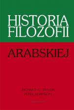 Historia filozofii arabskiej - , Richard C. Taylor, Peter Adamson