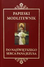 Papieski modlitewnik do Najświętszego Serca Pana Jezusa z koronką w prezencie - z koronką w prezencie,
