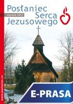 Posłaniec Serca Jezusowego - styczeń 2012 - , Ks. Stanisław Groń SJ (red.nacz.)